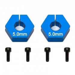 Associated Factory Team Clamping Wheel Hexes 5.0mm [91609]