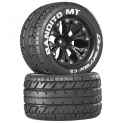 Bandito MT 2.8 inch Truck Mounted 1/2 inch Offset C2 Black (2)