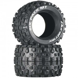 Six Pack MT 3.8 inch Tires (2)