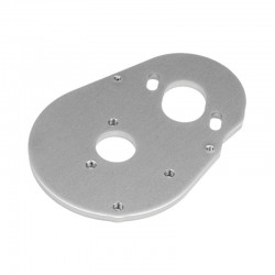 Motor Plate 3.0mm 7075/Gray Blitz