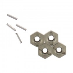 Wheel Hex Mount W/Pins (2*10)