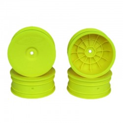 Speedline Buggy Wheels for B6 / Rb6 / Front Yellow 4 Pieces
