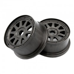 Tr-10 Wheel, Gunmetal, 120x60mm, -4mm Offset, Baja 5sc/T