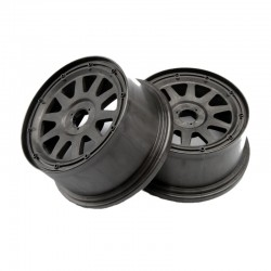 Tr-10 Wheel, Gunmetal, 120x65mm, -10mm Offset, for Baja 5sc/T