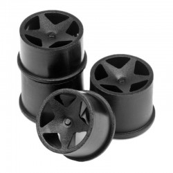 Super Star Wheel Set Black (4) Q32