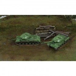 1/72 JS-2 Fast Assembly Tanks (2 Kits)