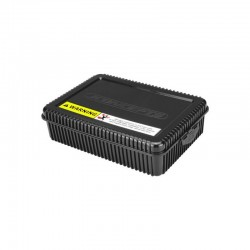 Shorty Storage Box w/Foam Liner Black