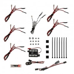 UF-7 Fire Body Light Package (kit includes - 2 pieces 5mm WHITE