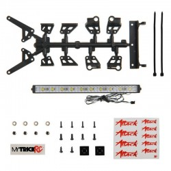 6 inch Flame Thrower Light Bar (kit includes Dragon Hardware Kit