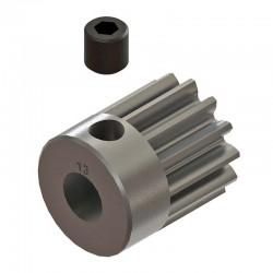 13T 32P (Mod 0.8) Steel Pinion Gear 1/8 Bore