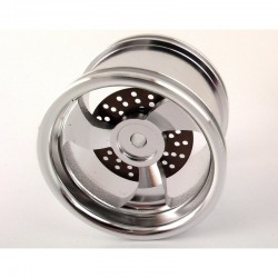 Aluminum Speed Blaster 3 Spoke Wheels (4)