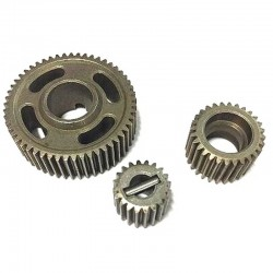 Steel transmission gear set (20T 28T 53T) For Everest Gen7/10