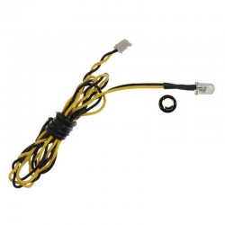 5mm Yellow LED 15.75 inch wire length