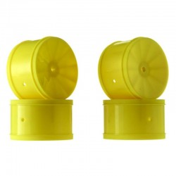1/10 Bullet 60mm Rear Wheel Yellow (4) B5/RB6
