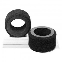 RC F1 Ft HBR Soft Sponge Tires - (1pr)