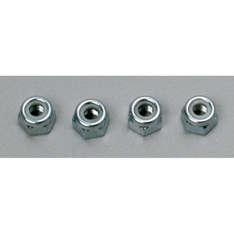 Nylon Locknut 4mm (4)