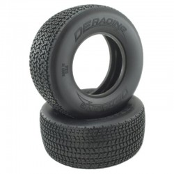 Grooved G6t D40 Compound Sc Oval Tire / No Foam / 2 Pieces.