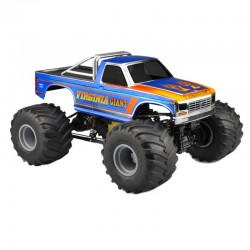1984 Ford F-250 Mt Scale Body, for Custom 1/10 Scale Monster Tru