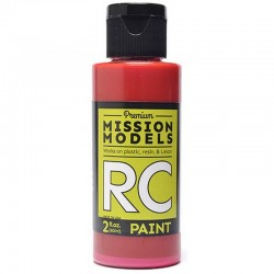 Water-Based Rc Paint, 2 Oz Bottle, Red