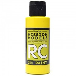 Water-Based Rc Paint, 2 Oz Bottle, Yellow