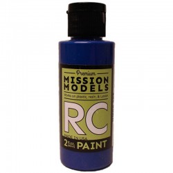 Water-Based Rc Paint, 2 Oz Bottle, Blue