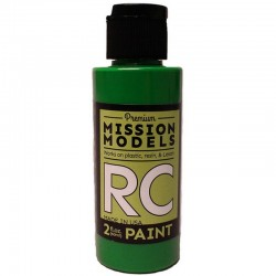Water-Based Rc Paint, 2 Oz Bottle, Green