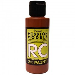 Water-Based Rc Paint, 2 Oz Bottle, Brown