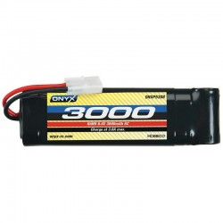 NiMH 7 Cell 8.4V 3000mAh Stick Pack Battery Tamiya Plug