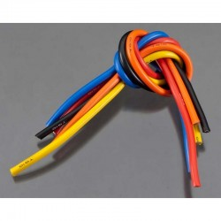 10 Gauge Wire 1 BL 5-Wire Kit Blck/Red/Blu/Ylw/Or