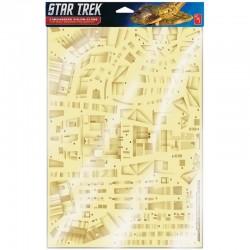 Star Trek 1/750 Cardassian Galor-Class Weathered Panel Decal Set
