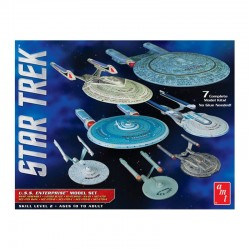 1/2500 Star Trek USS Enterprise Box Set Snap