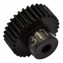 31T 48P Hardened Steel Pinion Gear 1/8 Bore
