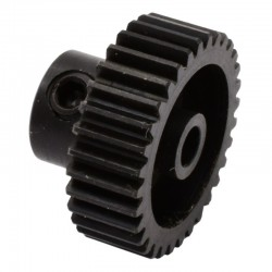 32t 48p Hardened Steel Pinion Gear 1/8 Bore