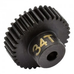 34T 48P Hardened Steel Pinion Gear 1/8 Bore