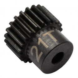 21t 48p Hardened Steel Pinion Gear 1/8 Bore