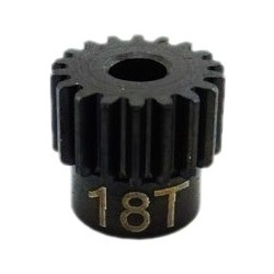 18T Mod 0.5 Hardened Steel Pinion Gear 1/8 Bore