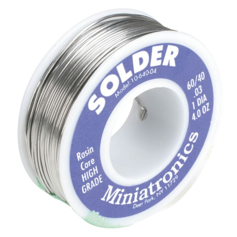 Rosin Core Solder 60/40 4oz