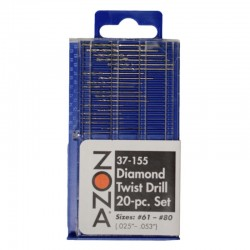Diamond Twist Drill Set