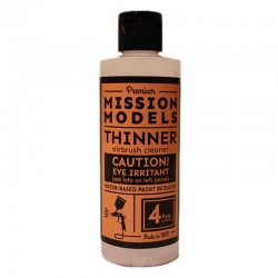 Mission Models Rc Paint 4 Oz Bottle Thinner / Reducer [MMA-003]
