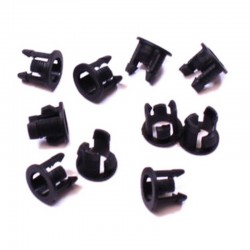 Small Light Mounting Bezels 3mm (10 pieces)
