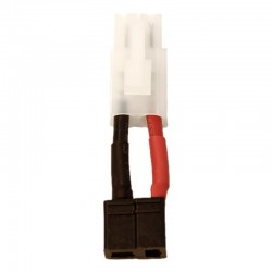 Battery/Esc Adapter: Male Tamiya to Female Deans T-Plug