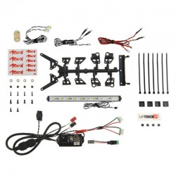 DG-1 Attack 860 (kit includes - 1pc 6 inch Light Bar 2 pieces Hi