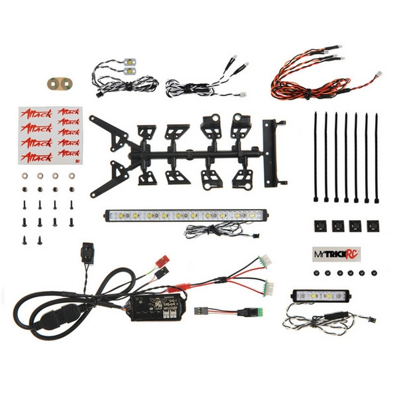 DG-1 Attack 1062 (kit includes - 1pc 6 inch Light Bar 1pc 2 inc