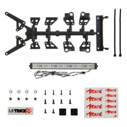 5 inch Attack High Power Light Bar (kit 1- 5 Light Bar w/ Mount