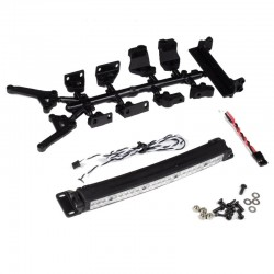5 High Power Light Bar W/ Mounts + Receiver Cable