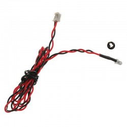 3mm Red LED 15.75 inch wire length