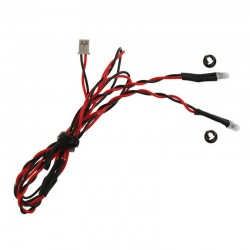 3mm Red Dual LED 15.75 inch wire length