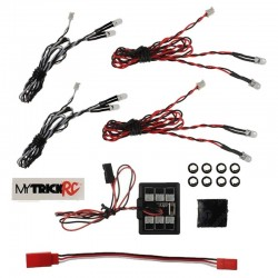 HB-1 Entry Level 8 LED (kit includes - 2pc 5mm WHITE DUAL 2pc 5