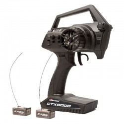 Ctx8000 2.4ghz Fhss 2-Channel Pistol Radio W/ 2 Receivers