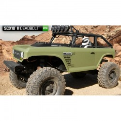 Scx10 Ii Deadbolt 1/10th Scale Electric 4wd - RTR